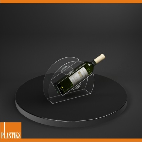 Espositore per Vino inclinato