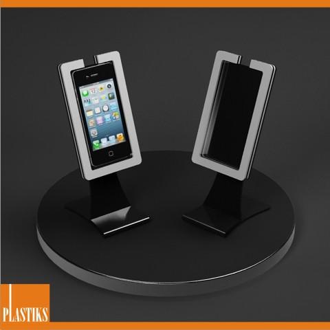 Porta Iphone Da Scrivania.Espositore Per Iphone 5